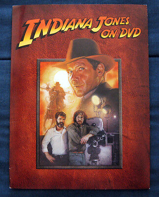 INDIANA JONES ON DVD - 2003 DVD Release Press Kit  + Bullwhip! (SUPER RARE!)