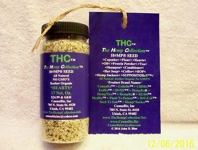 THC The Hemp Collection™ > a Registered Federal Trademark is FOR SALE