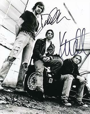 Nirvana- Glossy Photograph Signed by all 3 Band Members
