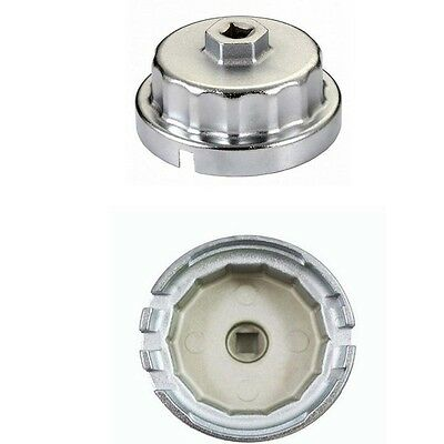 64mm Cartridge Style Oil Filter Wrench For Toyota 4-Runner Tundra Lexus Scion iQ
