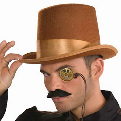 Steampunk Monocle Lens Adult Halloween 19th Century Victorian Costume Accessory