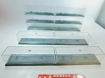 AV19-3# 10x Herpa H0 Display cabinet; good 2.Wahl; for Lorry/Trailer truck/