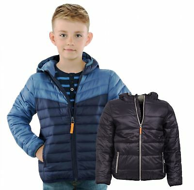 Children's Boy's quilted jacket light Hooded Jacket heat insulating every Season