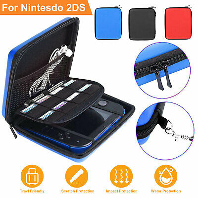 Hard EVA Storage Carrying Case Bag Protective Shell w/ Strap for Nintendo 2DS