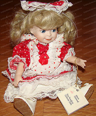 Lindsey, Valentine Doll (Marie Osmond Collection C9348) 1992, Limited 210 of 300