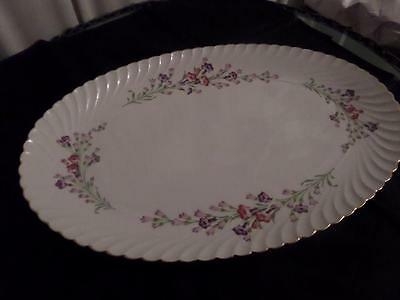 Royal Bayreuth...Germany..US Zone....WEST WIND....1946-1949...Oval Platter..med.