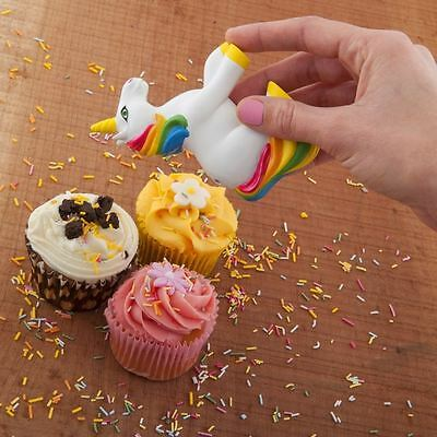 Unicorn Sprinkles Shaker Cake Decorator Baking Gift