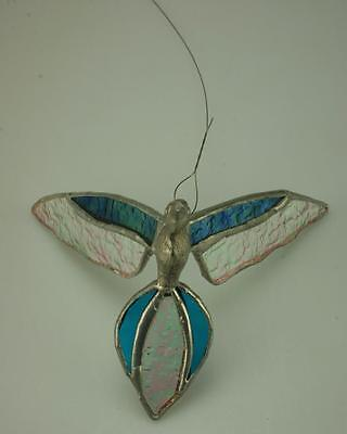 Handmade Tiffany Style Bird Stained Glass Window Suncatcher Ornament MJ5