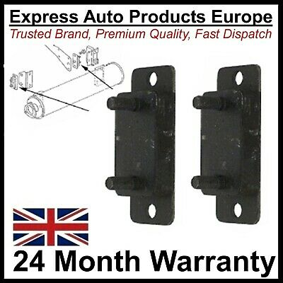 2 x Exhaust Mount Holder Flange Plate VW T25 T3 Transporter Van Diesel