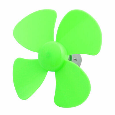 DC 3V 0.9A 20000rpm 100mm Dia 4 Vanes Motor Propeller Green for RC Aircraft