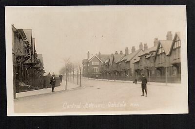 Oakdale - Central Avenue - real photographic postcard