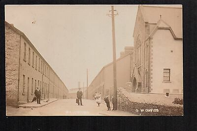 Ebbw Vale - Willowtown - real photographic postcard