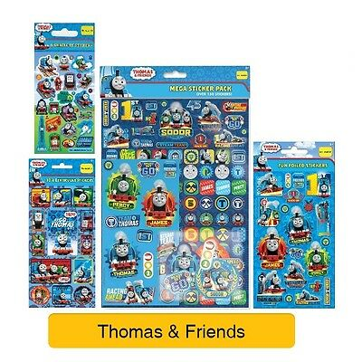 THOMAS & FRIENDS - Colouring Stickers Activity Books Kids Party Gift Xmas