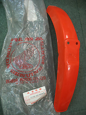 Genuine Honda Nc50 Express Deluxe Front Mud Guard Fender Rare Oe Vintage Red New