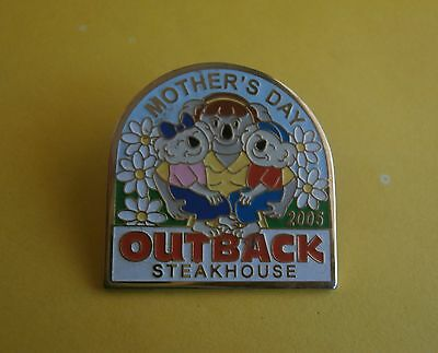Outback Steakhouse Restaurant Mother's Day 2005 - Lapel Pin