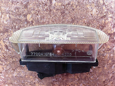 RENAULT CLIO MK2 REAR NUMBER PLATE LIGHT, PART No 7700410754