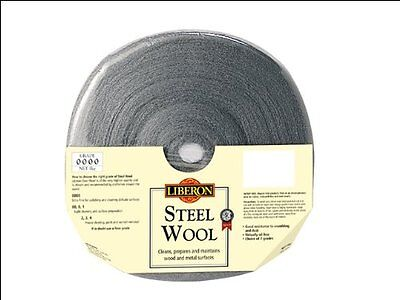 Liberon high quality steel wool Ultrafine grade 0000 1kg roll