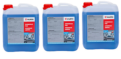 WÜRTH Window Cleaner Antifreeze Window Clear Concentrate 15 Liters To -65 Grad