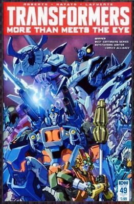 Transformers More than Meets the Eye (2012 IDW) #49 RI Variant Cover