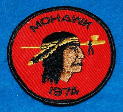 Mohawk 1974 Embroidered Patch