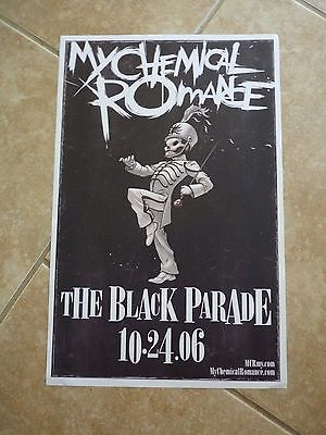 """My Chemical Romance Black Parade 2006 Single Sided Promo Poster 11"""" x 17"""""""
