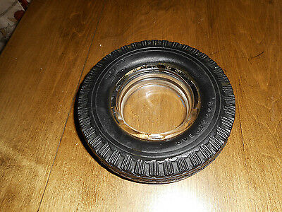 Vintage Goodyear Rubber Tire Ashtray