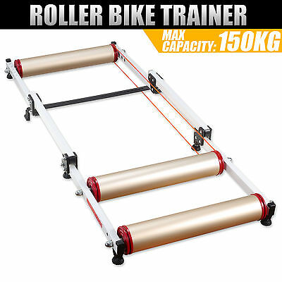 Bike Roller Trainer Indoor Folding Bicycle Cycle Training Stand Parabolic
