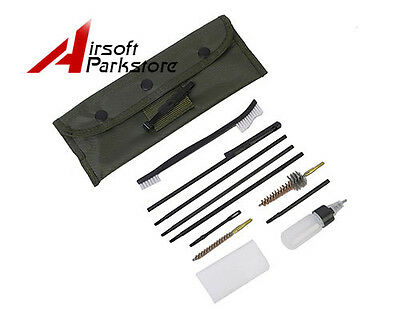 Tactical Hunting Rifle Gun Cleaning Kit Cleaning Rod For .22 22LR .223 556 Rifle