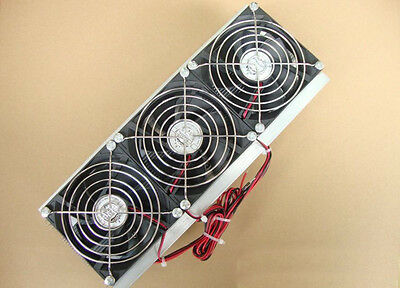 DIY Thermoelectric Cooler air conditioner 12V 3*fan 150W 3*TEC12706 parts room