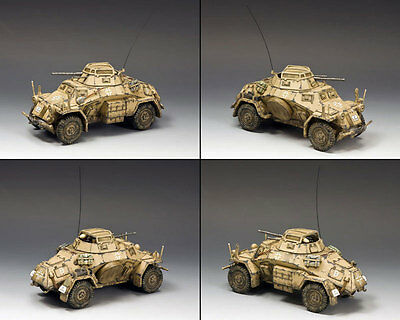 King & Country Sd. Kfz. 222 Armoured Car (North Africa-Desert) AK92