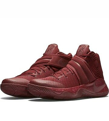 "Mens Nike Kyrie 2 Basketball Shoes Trainers ""Red Velvet"" 819583 600 UK 11 eur 46"