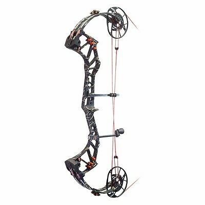 New 2017 PSE Evolve 35 Compound Bow 60# Right Hand Skullworks 2