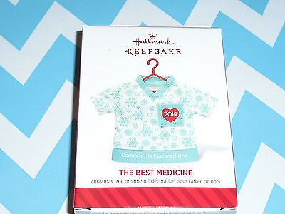 2014 Hallmark Ornament   Best Medicine   NIB