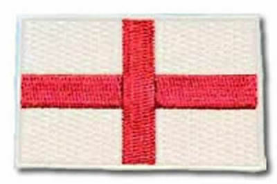 England flag - Cross of St George  sew on patch/ badge  ENGLAND PATCH