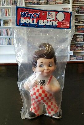 Vintage BIG BOY Restaurants Doll Bank 1973 Marriott Corp In Package