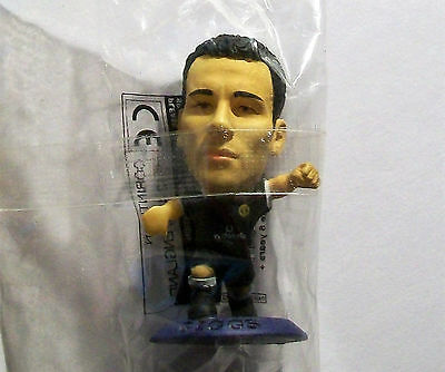 Microstars MANCHESTER UTD (AWAY) GIGGS Japan S5 BLUE BASE MC2046