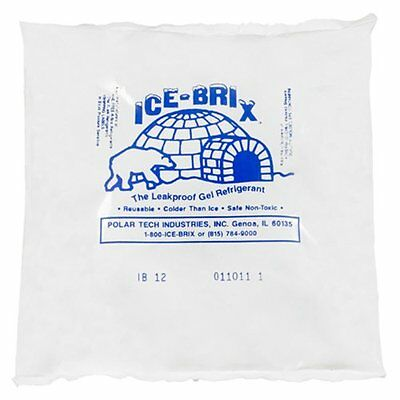 Ice-Brix IB16BPD Cold Pack 6-1/4in Length x 6in Width x 1in Height Kraft Case of