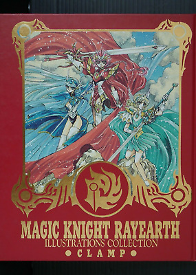"""JAPAN CLAMP Art Book """"Magic Knight Rayearth ILLUSTRATION COLLECTION"""""""