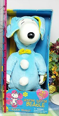 Snoopy Peanuts Easter Beagle Jumpin Musical DOll