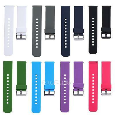 New Replacement Strap Wrist Band For Smart Watch Pebble Time Cookoo2 8- Colors