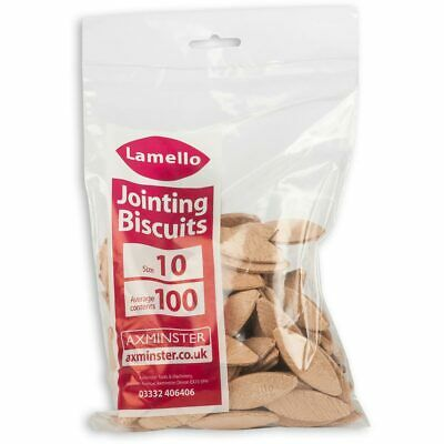 Lamello Biscuits - Size 10 (Box 100)