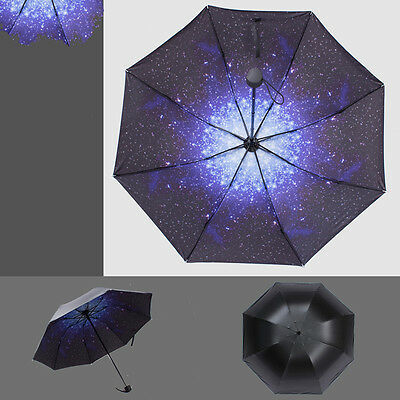 Rain/Sun/Shade Long Umbrella Windproof Double Layer Folding Inverted Upside Down