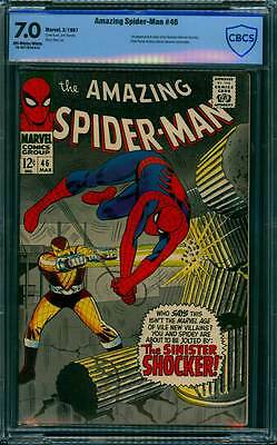 Amazing Spider-Man # 46  1st appearance of the Shocker ! CBCS 7.0  scarce book !