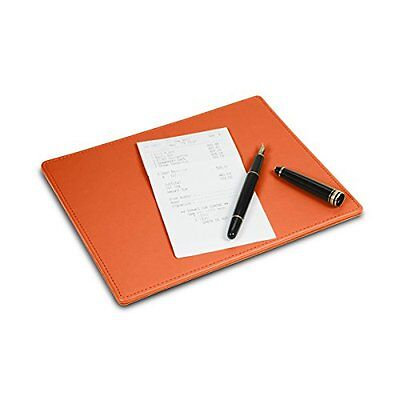 LUCRIN Signing pad Smooth Cow Leather Orange