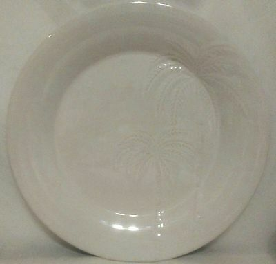 Oneida Palms Pattern Dinner Plates - Set of 4 - Excellent