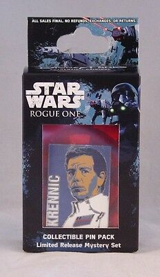 Disney Star Wars Rogue One Mystery Set KRENNIC Limited Release 1 Pin Box NEW