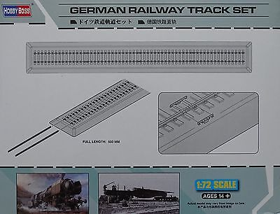 HOBBYBOSS® 82902 German Railway Track set 50cm in 1:72