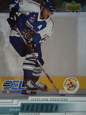 111 Shawn Anderson Iserlohn Roosters DEL 2000-01