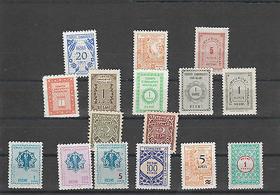 Turkey unused Postage stamps Los Right 3005