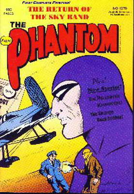 THE PHANTOM Frew Comic #1270  EXCELLENT 100 pages The Return of Sky Band